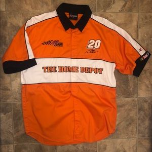 Nascar Tony Stewart Button Up